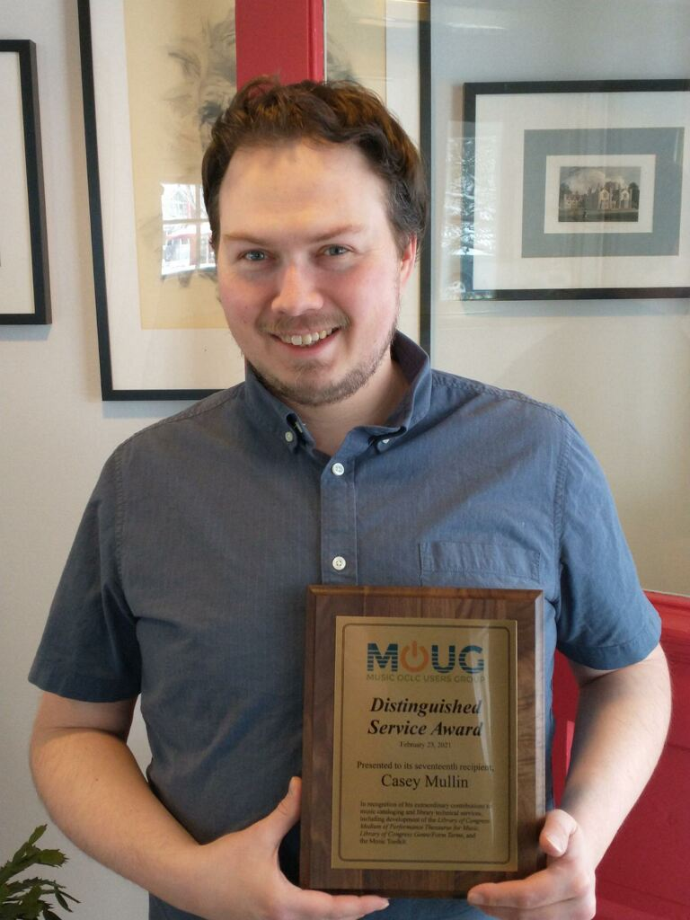 Image of Casey Mullin, 2021 recipient of MOUG's Distinguished Service Award